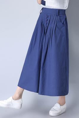 Q01藏蓝色半身裙