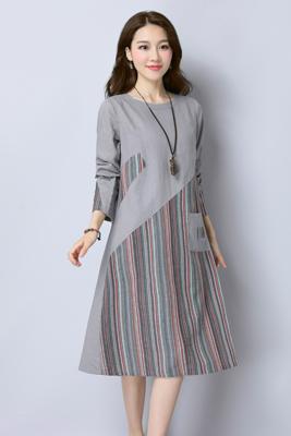 7320连衣裙灰色